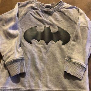 H&M Shirts & Tops - H&M Batman sweater toddler boys sz 18-24 mths